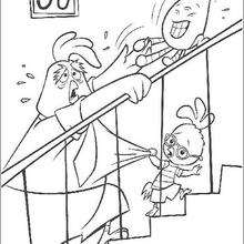 Chicken Little 63 - Coloring page - DISNEY coloring pages - Chicken Little coloring pages