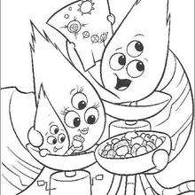 Chicken Little 65 - Coloring page - DISNEY coloring pages - Chicken Little coloring pages