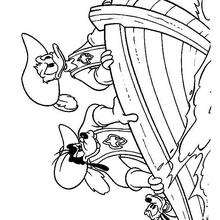 Donald Duck Coloring Pages 57 Free Disney Printables For Kids To Color Online