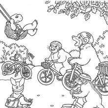 franklin and friends coloring pages | FRANKLIN coloring pages - Halloween Franklin
