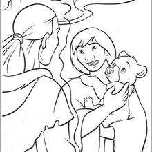 Brother Bear 35 - Coloring page - DISNEY coloring pages - Brother Bear coloring book pages