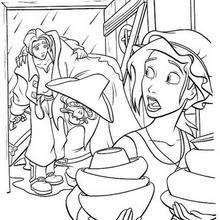 Treasure Planet  6 - Coloring page - DISNEY coloring pages - Treasure Planet coloring book pages