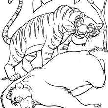 The Jungle Book 41 - Coloring page - DISNEY coloring pages - The Jungle Book coloring pages