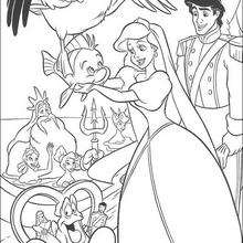 the little mermaid coloring pages online | The Little Mermaid coloring pages : 32 free Disney ...