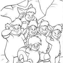 Peter Pan Coloring Pages 33 Free Disney Printables For Kids To Color Online