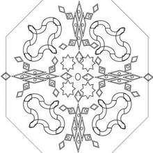 Mandala  5 worksheet