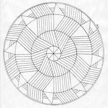 Mandala WWW worksheet